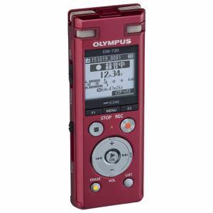 オリンパス ICレコーダー Voice-Trek レッド DM-720-RED