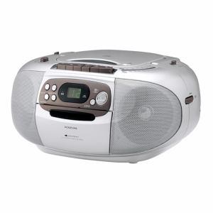 コイズミ SAD-4936/S CDステレオラジカセ シルバー
