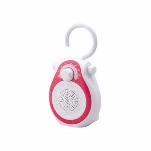 コイズミ SAD7714P シャワーラジオ ピンク