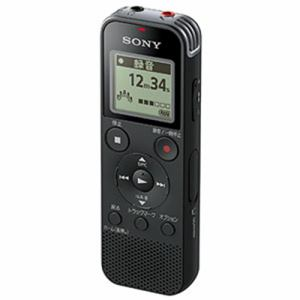 ソニー ICD-PX470FBC 4GB内蔵+外部マイクロSDカードスロット搭載 リニアPCM対応ICレコーダー ブラック