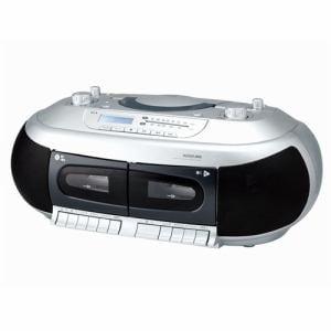 コイズミ SAD-4937/S CDダブルラジカセ シルバー