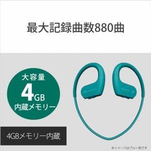 ソニー NW-WS623-B ウォークマン WS620シリーズ 4GB ブラック