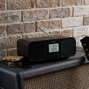 ソニー CFD-S401-BC ワイドFM対応 CDラジオカセットレコーダー ブラック