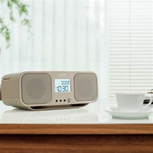 ソニー CFD-S401-TI ワイドFM対応 CDラジオカセットレコーダー ベージュ
