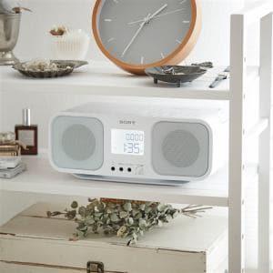 ソニー CFD-S401-WC ワイドFM対応 CDラジオカセットレコーダー ホワイト