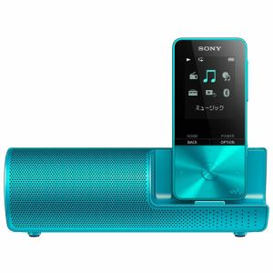 ソニー NW-S313K-L ウォークマン Sシリーズ[メモリータイプ] 4GB スピーカー付属 ブルー