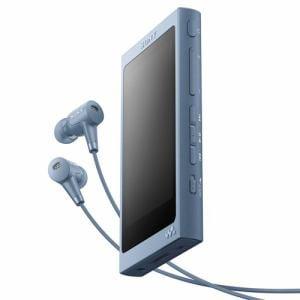 ソニー NW-A45HN-L 【ハイレゾ音源対応】 ウォークマン Aシリーズ[メモリータイプ] ヘッドホン付属モデル 16GB ムーンリットブルー