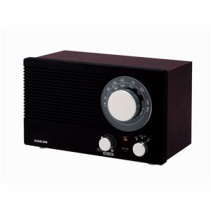 コイズミ SAD7223 ホームラジオ (木目)