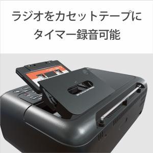 ソニー CFD-S401-LI CDラジオカセットレコーダー ブルーグレー
