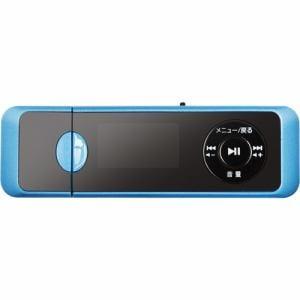 グリーンハウス GHYMPD16BL MP3プレイヤー 16GB ブルー