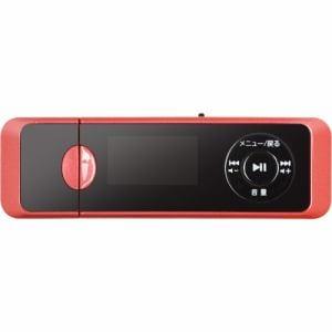 グリーンハウス GHYMPD16RD MP3プレイヤー 16GB レッド