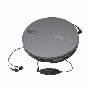 コイズミ SAD-3903/K ポータブルCDプレーヤー ブラック