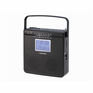 コイズミ SAD-4703/K CDラジオ ブラック