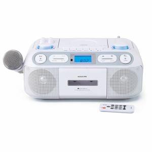 コイズミ SAD-4942/W CDステレオラジカセ ホワイト