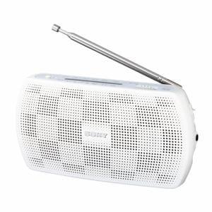 ソニー SRF-19-W ステレオポータブルラジオ ホワイト