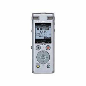 オリンパス DM-750-SLV 2マイクノイズキャンセル搭載ICレコーダー 「Voice‐Trek」 4GB シルバー