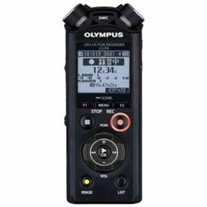 オリンパス LS-P4-BLK 【ハイレゾ音源対応】リニアPCMレコーダー 8GB ブラック