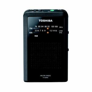 東芝 TY-APR4 ワイドFM AM 対応 ポケットラジオ