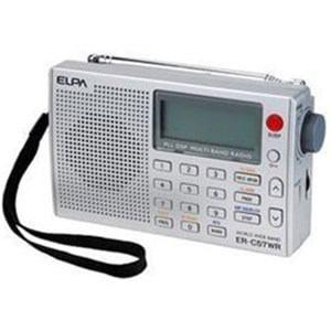 エルパ ER-C57WR 【ワイドFM対応】FM/MW/SW(短波)/LW(長波)/AIR(エアバンド)携帯ラジオ