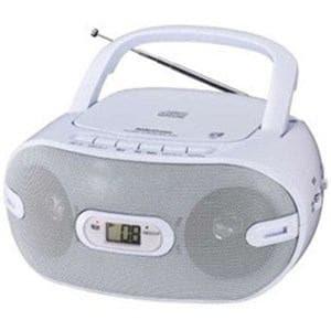 オーム電機 RCR-871Z ワイドFM対応 CDラジオ(ラジオ+CD)