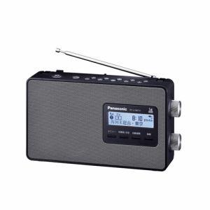 パナソニック RF-U180TV-K ワンセグTV(音声)/ワイドFM/AM 3バンドラジオ