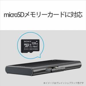 ソニー NW-A55BM ウォークマン ウォークマンA50シリーズ 16GB グレイッシュブラック