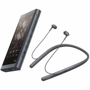 ソニー NW-A55WIBM wirelessヘッドホン同梱ウォークマン ウォークマンA50シリーズ 16GB グレイッシュブラック