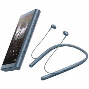 ソニー NW-A55WILM wirelessヘッドホン同梱ウォークマン ウォークマンA50シリーズ 16GB ムーンリットブルー