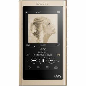 ソニー NW-A57NM ウォークマン ウォークマンA50シリーズ 64GB ペールゴールド