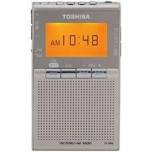 東芝 TY-SPR6-N ワイドFM/AMポケットラジオ