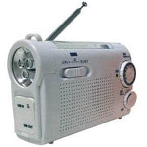 KOHKA KDR-107W ワイドFM対応 防災ラジオ(ホワイト)