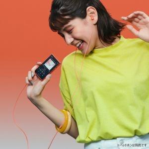 ソニー NW-A105 DM ウォークマンAシリーズ オレンジ