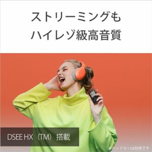 ソニー NW-A105HN DM ウォークマンAシリーズ オレンジ