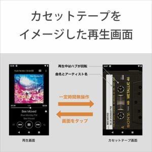 ソニー NW-A106 BM ウォークマンAシリーズ ブラック