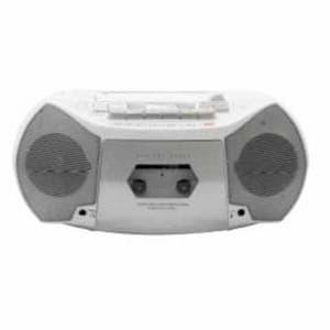 フィフティ DSCD-360 CDラジカセ デジタルソニック 2.4W ホワイト