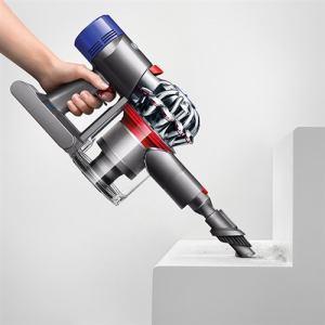 ダイソン SV10FF3 コードレスサイクロン掃除機 Dyson v8 Fluffy   ニッケル/アイアン/パープル