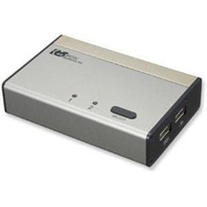 ラトックシステム REX-230UDA USB接続 DVI・Audio対応(PC2台用) パソコン自動切替器