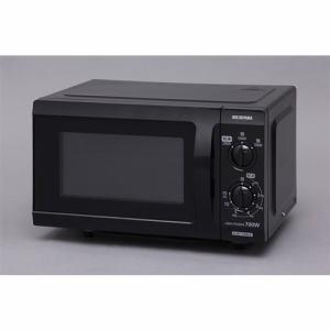 アイリスオーヤマ IMB-F183-6 単機能レンジ(西日本地域用) フラットテーブル 60Hz ブラック