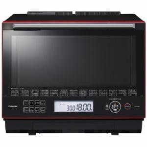 東芝 ER-SD3000-R 過熱水蒸気オーブンレンジ 「石窯ドーム」 30L グランレッド
