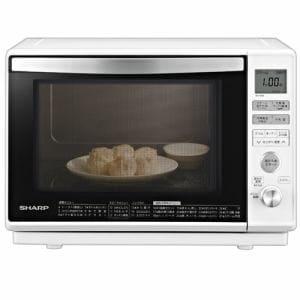 シャープ RE-V80B-W 過熱水蒸気オーブンレンジ 23L 1段調理 ホワイト系