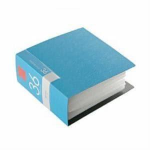 バッファロー CD DVDファイル 36枚収納 ブルー ブックタイプ 36枚収納 BSCD01F36BL