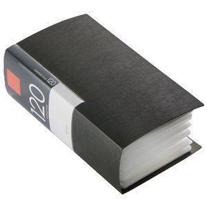 バッファロー BSCD01F120BK CD/DVDファイル ブックタイプ 120枚収納 ブラック