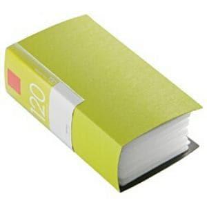 バッファロー BSCD01F120GR CD/DVDファイル ブックタイプ 120枚収納 グリーン