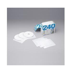 バッファロー BSCD07H120WH CD/DVD不織布ケース 2穴/両面収納タイプ