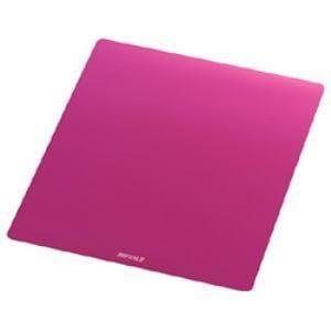 バッファロー BSPD10PK メタル調マウスパッド ピンク