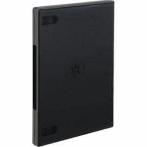 ナカバヤシ DVD-NA005-3BK DVDトールケース 3枚収納 3ケース入り ブラック