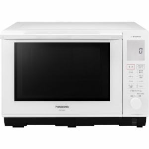 パナソニック 電子レンジ オーブンレンジ NE-BS607-W Bistroビストロ 1段調理タイプ 26L ホワイト スチーム