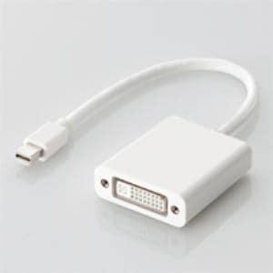 エレコム AD-MDPDVIWHMini DisplayPort DVI-D変換アダプタ