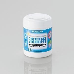 エレコム 液晶用ウェットクリーニングティッシュWC-DP50N3 WCDP50N3