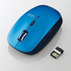 エレコム 5ボタンワイヤレスBlueLEDマウス M-BL21DBBU